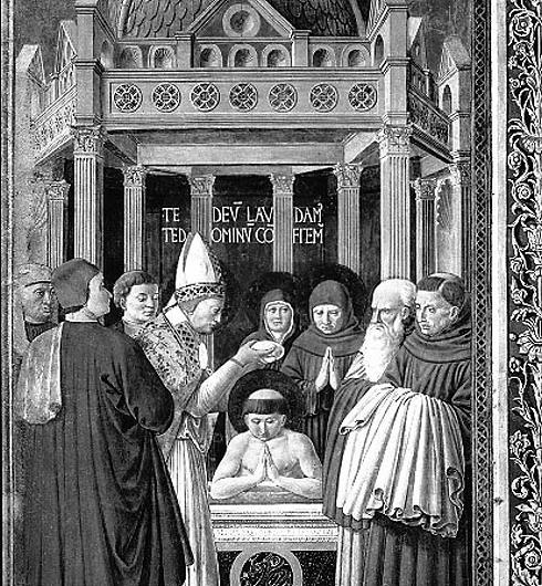 Die Taufe des Augustinus von Hippo
