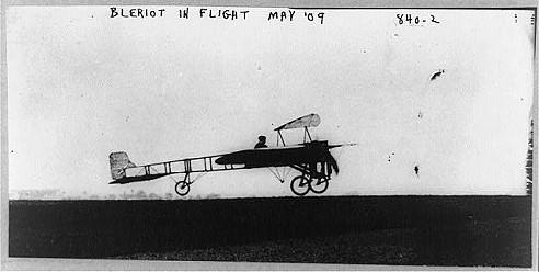 Flugzeug vom Typ Blériot XI