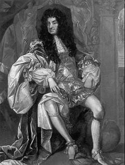 König Charles II von England und Schottland