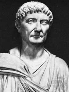 Büste von Kaiser Diokletian