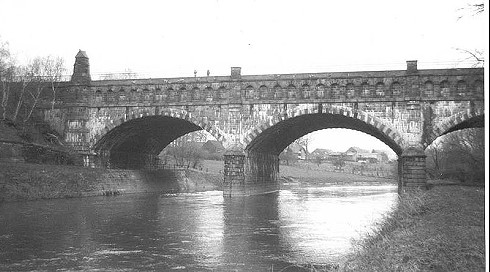 Die Lippebrücke des Dortmund-Ems-Kanals bei Datteln