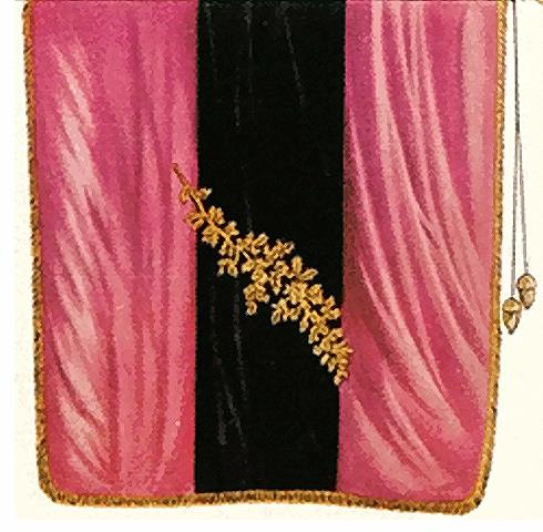 Fahne der Urburschenschaft auf der Wartburg