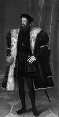Kaiser Ferdinand I. (1503-1564) gemalt von Hans Bocksberger dem Älteren