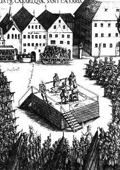 Die Hinrichtung von Vinzenz Fettmilch und seinen Anhängern