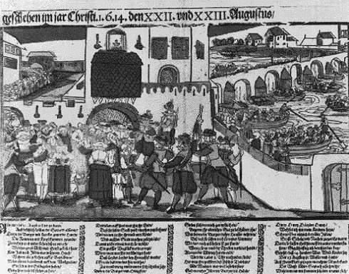 Die Vertreibung der Juden aus Frankfurt im Zuge des Fettmilch-Aufstandes