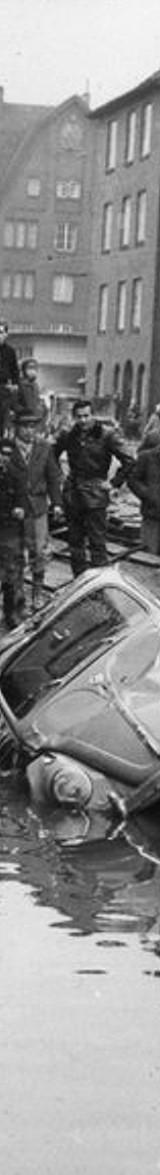 Sturmflut in Hamburg am 16. Februar 1962