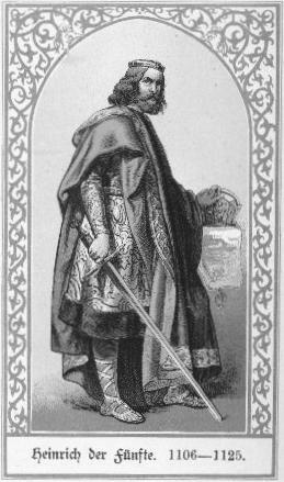 Heinrich V. Kaiser des Heiligen Römischen Reiches