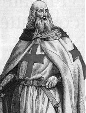 Der letzte Großmeister der Templer, Jaques de Molay