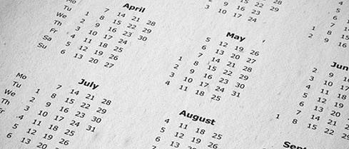 Kalenderwechsel in Schweden