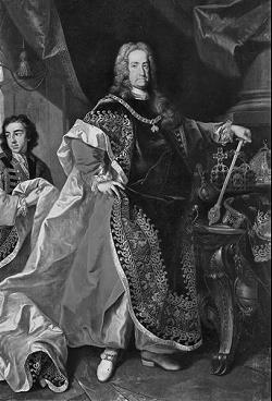 Kaiser Karl VI aus dem Hause Habsburg