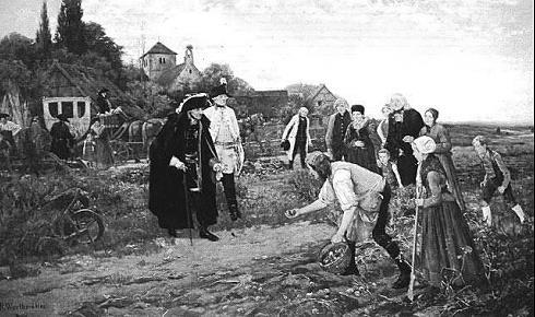 Gemälde 'Der König überall von Robert Warthmüller' von 1886