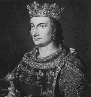 Der Gegenspieler der Templer, Philippe IV, der Schöne, König von Frankreich