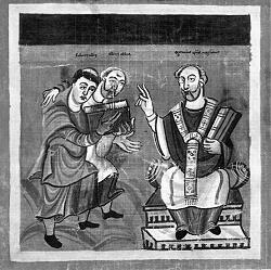 Rabanus Maurus beim Mainzer Erzbischof Otgar