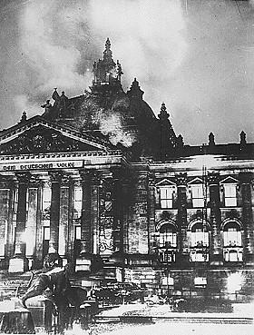 Reichstagsbrand am 28. Februar 1933