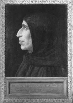 Der Bußprediger Girolamo Savonarola