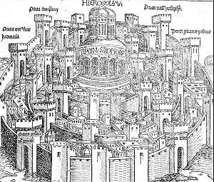 Die Darstellung Jersualems in der Schedelschen Weltchronik
