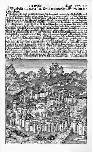 Schedelsche Weltchronik: Konstantinopel
