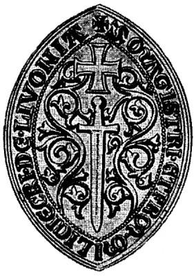 Wappen des Schwertbrüderordens