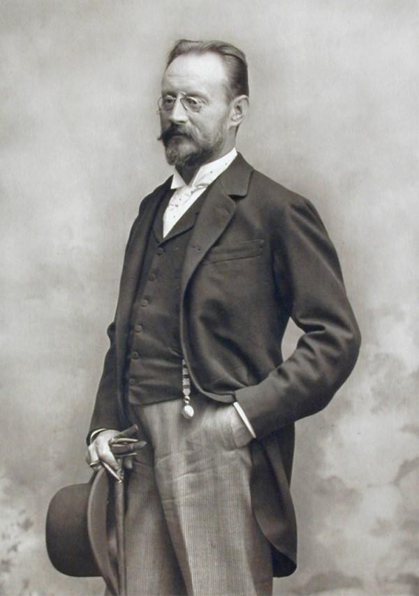 Portrait des Erfinders und Forschers Auer von Welsbach